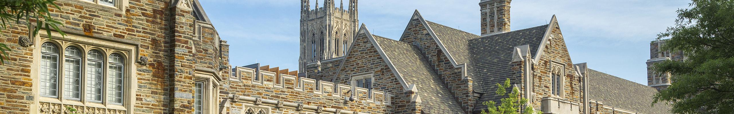 Duke West Campus architecture